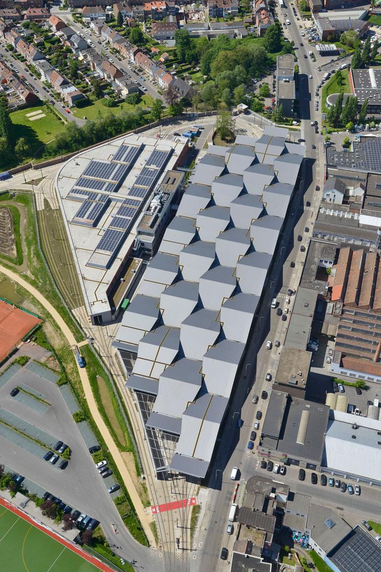 STIB Marconi, Brussels - Arch. Altiplan